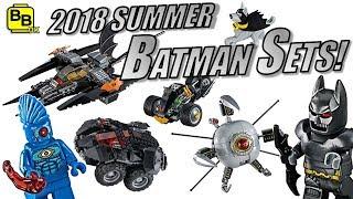 MOTORIZED BATMAN!! 2018 SUMMER LEGO DC SETS REVEALED!!