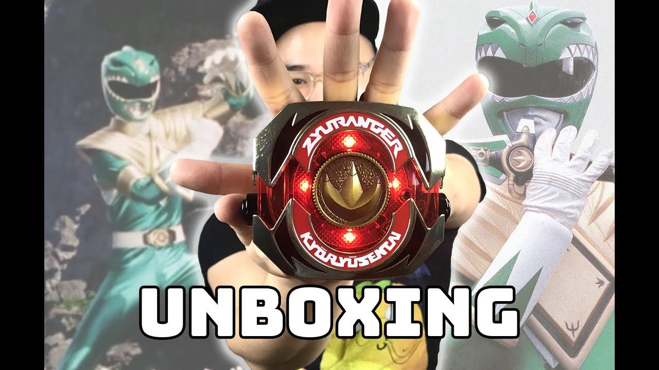 SUPER SENTAI Zyuranger Artisan Dragon Buckler Unboxing
