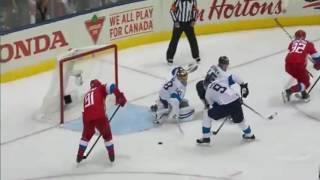 Хоккей Россия Финляндия 2:0 Голы Кубок Мира 2 период