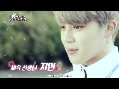 ENG Flower Boys Bangtan High School mini drama cut