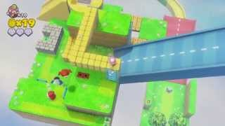 Captain Toad: Treasure Tracker (Wii U) - Episode 2, Level 1: Chute Scoot Slopes