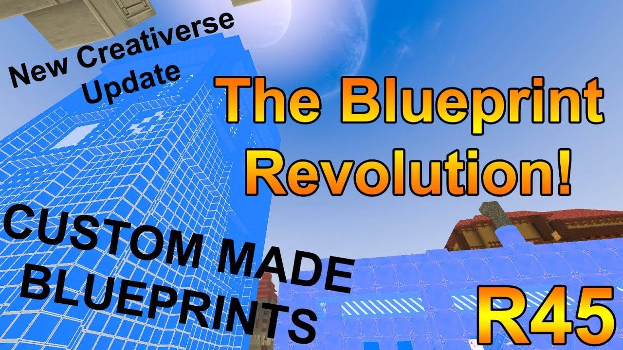 The blueprint update r45 creativerse update custom made r45 creativerse update custom made blueprints malvernweather Images
