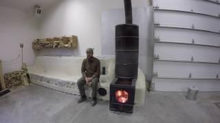 ABC acres: Heating Efficiently: Rocket Mass Heater - episode #053 thumbnail