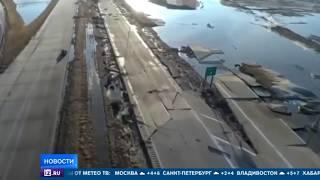 """Военная база США с """"самолетами судного дня"""" ушла под воду"""