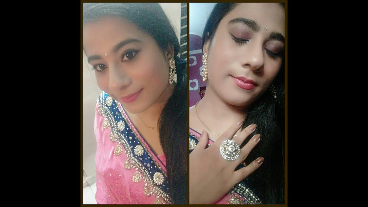 Indian Wedding Guest makeup Festival makeup GRWM MakeupwithKaur
