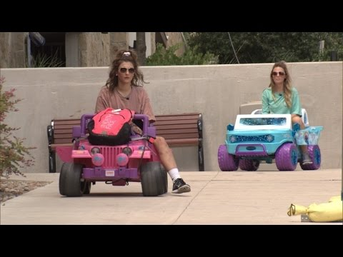College Girl Dwi Drives Barbie Car