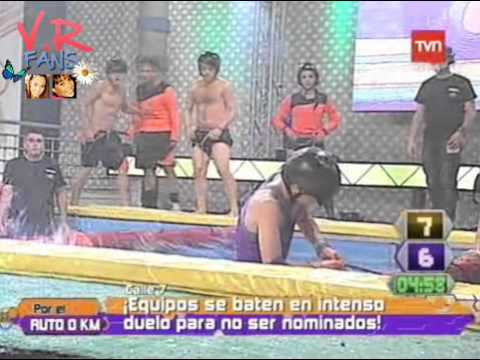 Valentina Roth compitiendo en Calle 7 - El espiral.- - YouTube