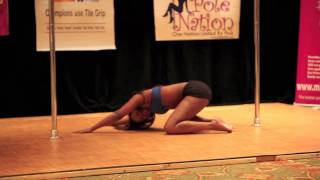 Miss Texas Pole Dance Competition 2011 - First Round - Ego