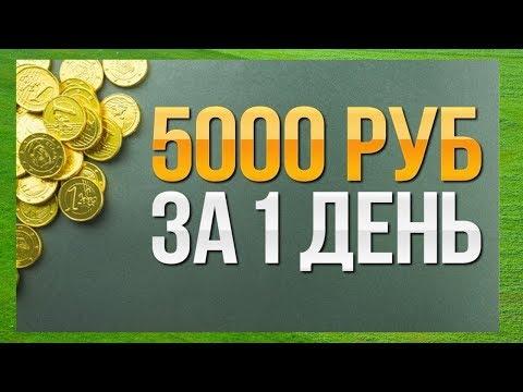 Заработок в Интернете от 5000 р. в день [БОНУС СГОРАЕТ!!!]