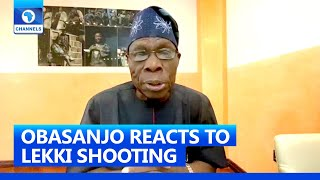 #ENDSARS Protest: Obasanjo 'Concerned' Over Lekki Shooting, Calls For Calm