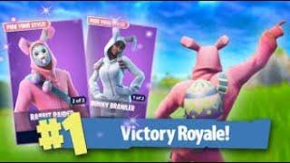"Bunny Brawler & Rabbit Raider Return! Use Code ""DREWQUA_"" - OG PS4 Fortnite Player Gameplay *LIVE*"