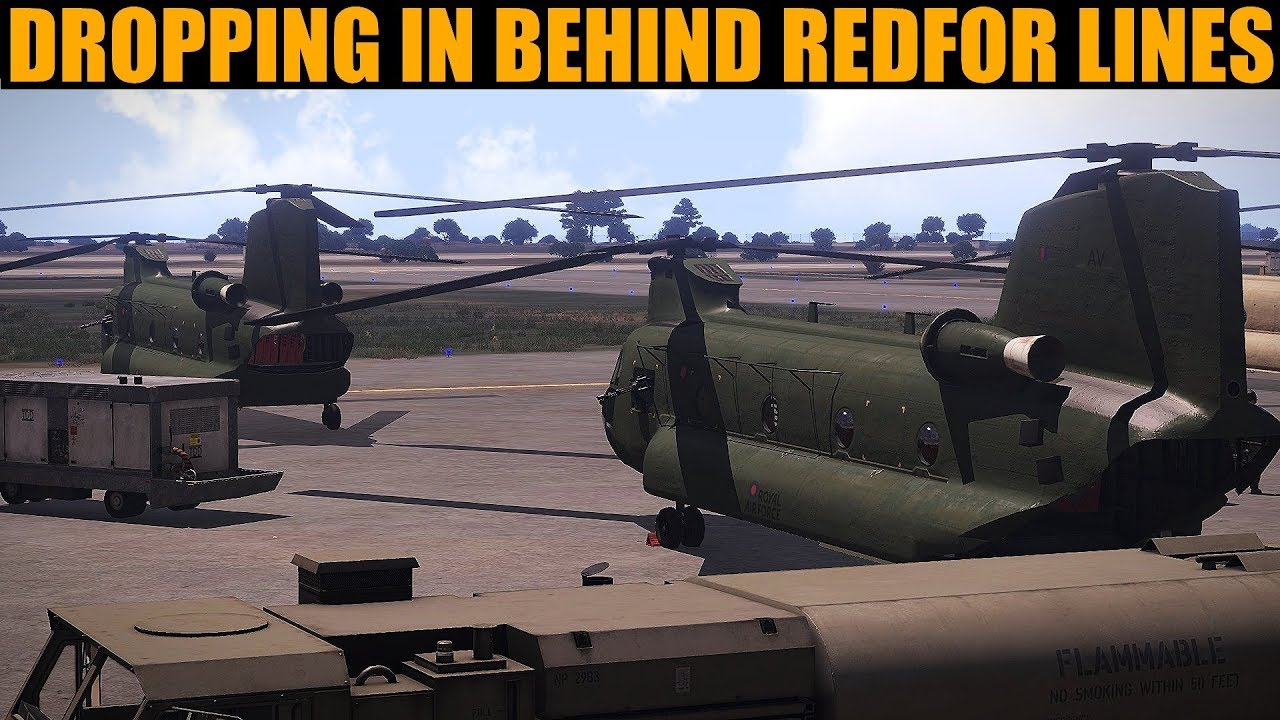 Coffee Campaign: DAY 42 Pushing For Secret Red Intel | Arma 3