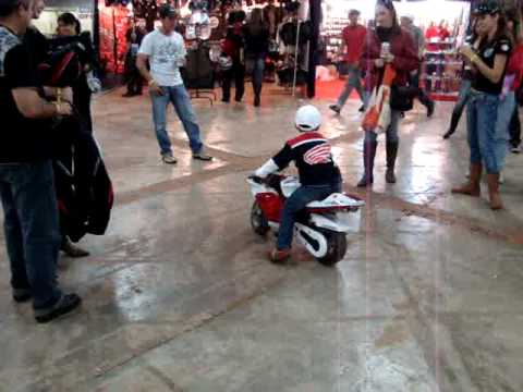 Encontro de Motociclismo de Cianorte 2009 - Assim nasce um Jaspion