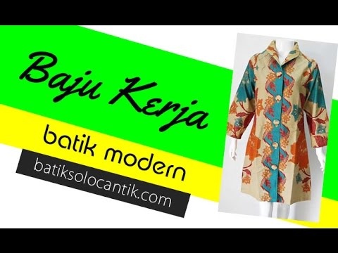 Gambar Model Baju Batik Dinas Wanita Best Hairstyles Ideas