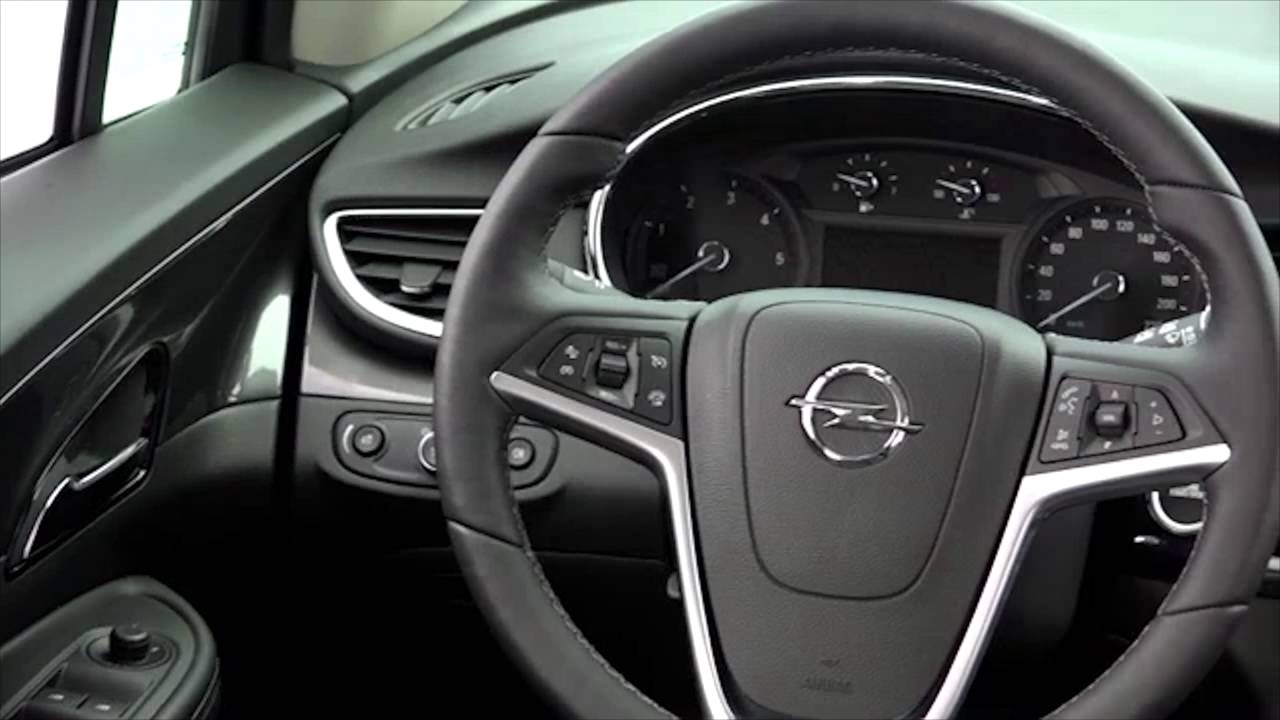 opel mokka x in amber orange interior design trailer automototv youtube. Black Bedroom Furniture Sets. Home Design Ideas