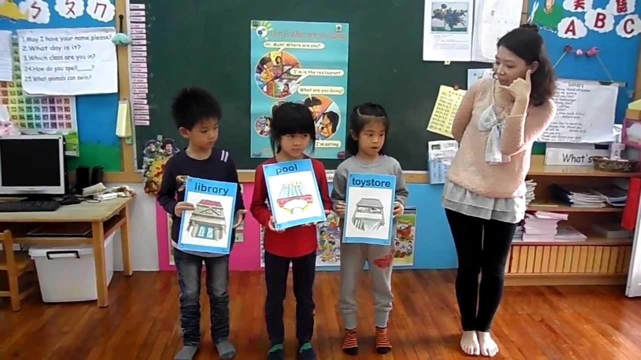 常春藤明華幼兒園-美猴王美語上課教學1020314 - YouTube