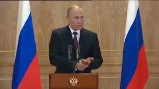 Путин: в долг на Украину Россия уже ничего поставлять не будет. 17.10.2014(, 2014-10-18T00:46:56.000Z)