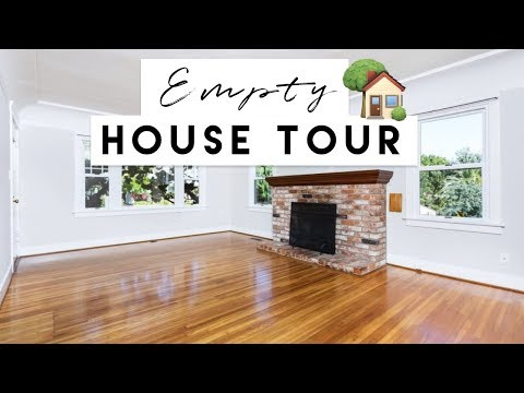 Our New Home! | Empty House Tour