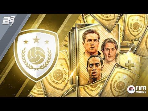 2 ICON BUNDLES OPENED! OWEN, RONALDINHO AND MALDINI UNLOCKED! | FIFA MOBILE