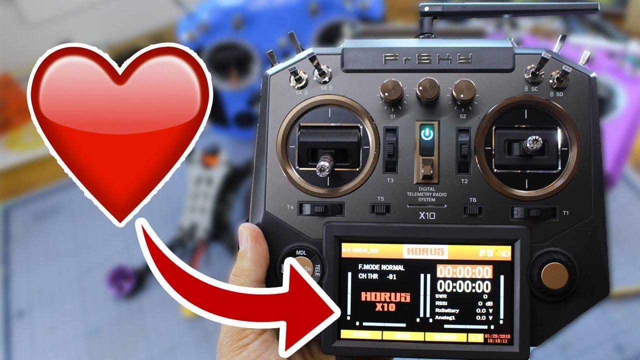 Horus X10 NEW FRSKY RADIO  Should you UPGRADE? UAVFUTURES