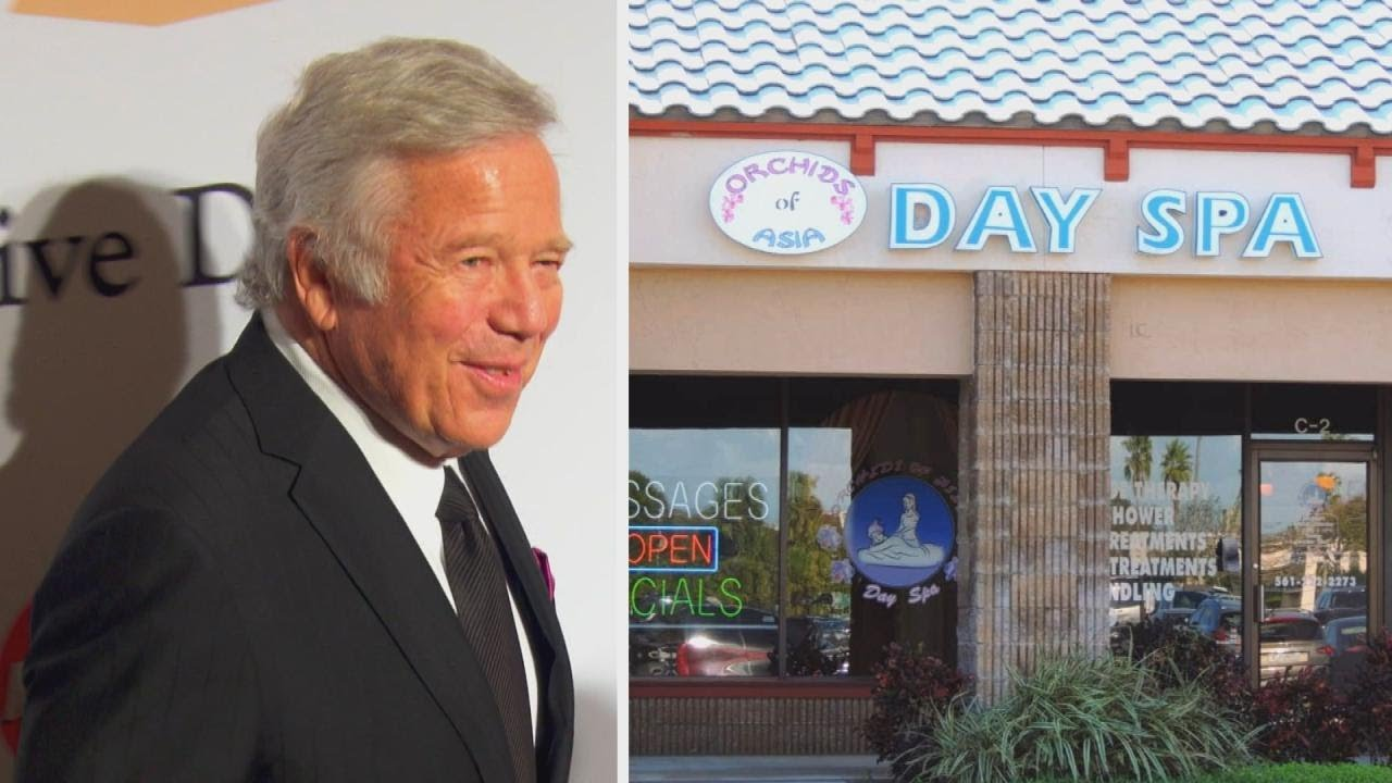 Patriot's Owner Charged With Soliciting Prostitution