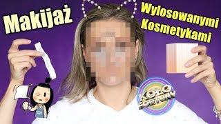 Cały Makijaż Losowo Wybranymi Kosmetykami - Challenge / Wyzwanie🤦�♀��🙈