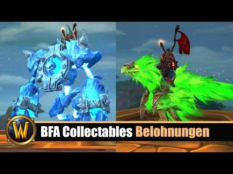 BFA Collectables Belohnungen - 400 Mounts und mehr