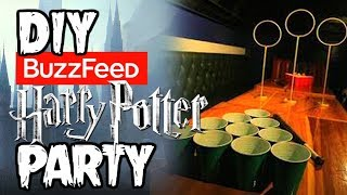 I Tried BUZZFEED's Harry Potter Party (SPOILER ALERT, IT'S AWESOME) thumbnail