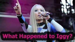 what happened to iggy azalea? chat show