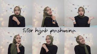 Hijab Pashmina Jepit Korea
