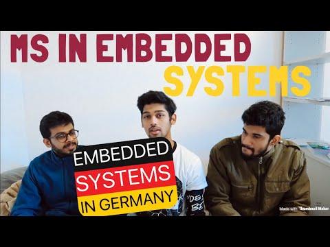 MASTER'S IN EMBEDDED SYSTEMS FROM GERMANY (TU CHEMNITZ)