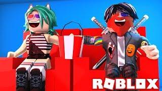 BEBÉ LULY y BEBÉ DERANKITO SE VAN AL CINE en ROBLOX(Roblox Roleplay)😱