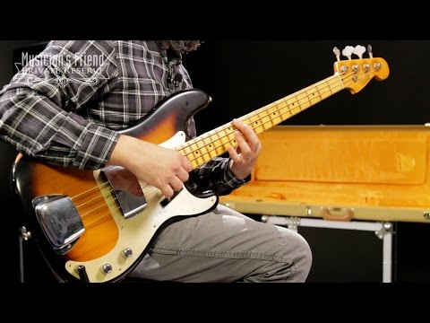 Fender Custom Shop 1957 Precision Bass Relic Masterbuilt by John Cruz, 2-Color Sunburst