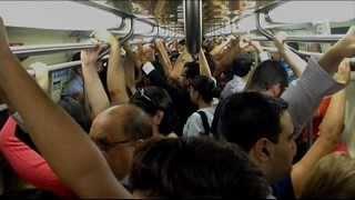 Aumenta o número de casos de abuso de mulheres no metrô de São Paulo