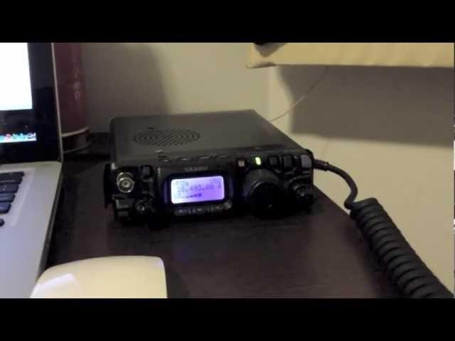 QSO em QRP entre PT2EBR e PU5DUD - Low Power Contact Hamradio