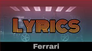 ENO feat Mero  FERRARI (Lyrics)