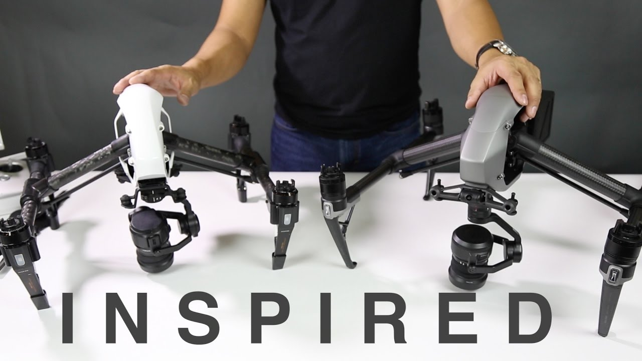 The Digital Circuit Comparing Dji Inspire 2 And 1 Pro Youtube
