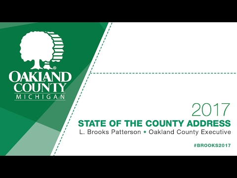 2017 Oakland County State of the County Address