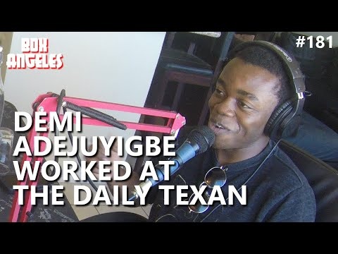 Demi Adejuyigbe Worked at The Daily Texan