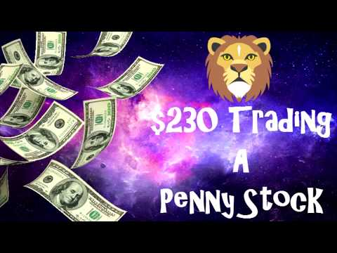 How I traded $CYTR & Made $230 Trading A Penny Stock