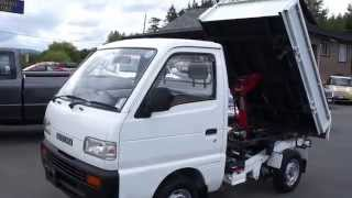 1993 SUZUKI CARRY DUMP BOX 4X4 AT KOLENBERG MOTORS LTD