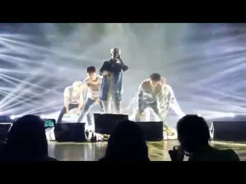 "[Fancam]B.A.P LOE CHICAGO 4-19-14 ""Hurricane+DITR"""