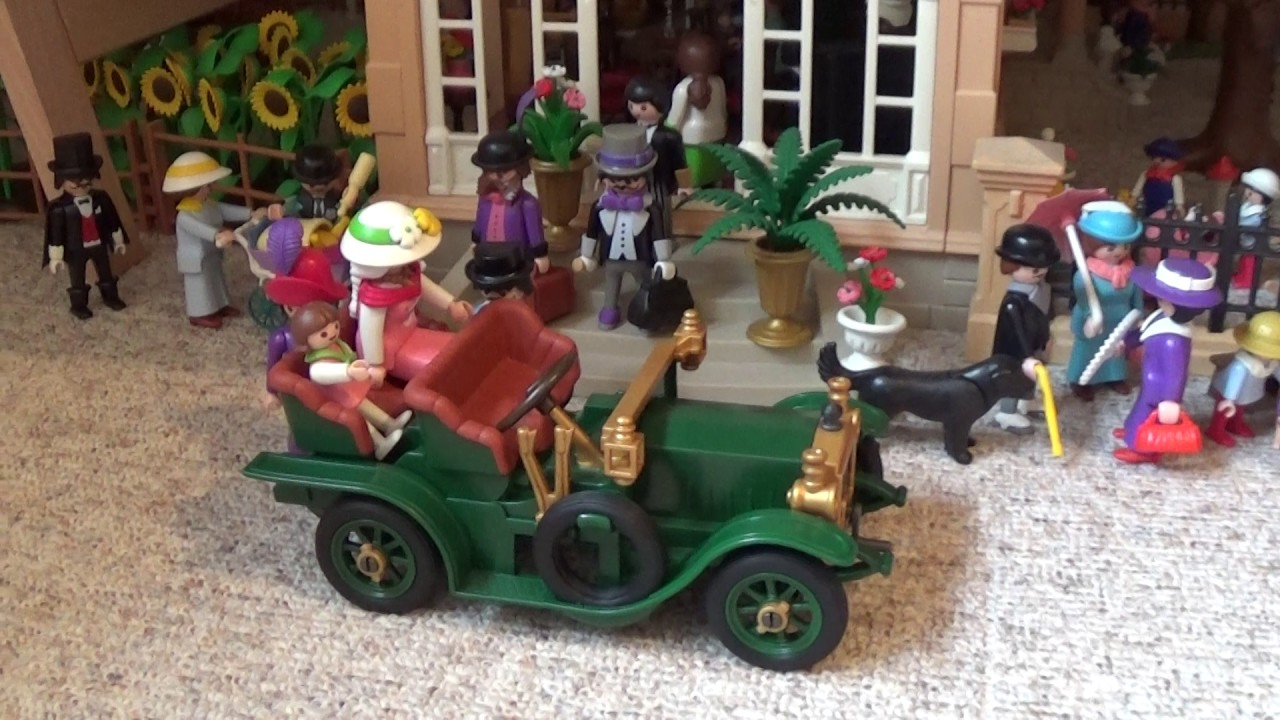 Playmobil Nostalgiehaus Diorama Victorian Dollhouse 1900 - YouTube