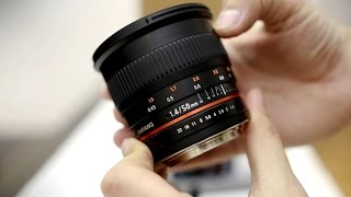 Samyang 50mm f/1.4 AS UMC lens review with samples (full-frame and APS-C)
