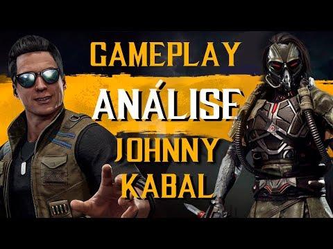 MORTAL KOMBAT 11 - Análise de Gameplay do Johnny Cage e Kabal thumbnail