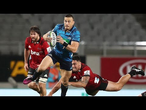 ROUND 14 HIGHLIGHTS: Blues v Crusaders - 2018