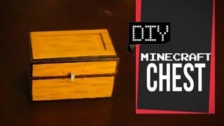 Minecraft Chest - DIY GG
