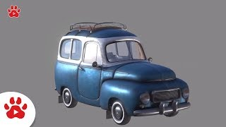 USA Truck Volvo Station Volkswagen Bus Trophee | Super Cars for Kids | #h Colour Song for Kids