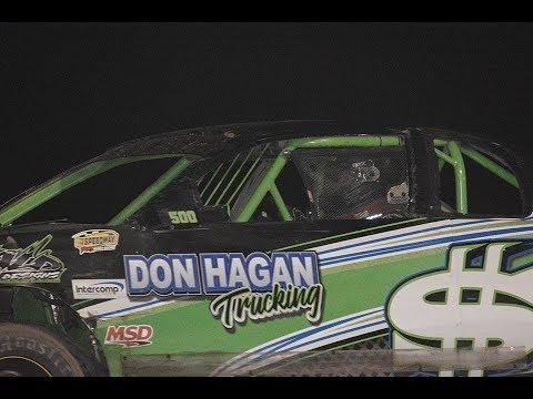 9/29/18 Canyon Speedway Park IMCA Stock Cars Main Even Win