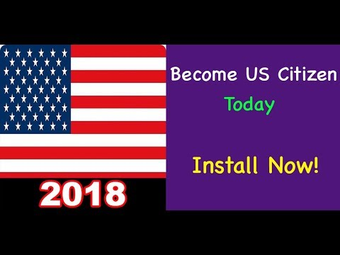 US Citizenship/Naturalization Test Questions In Random Order 2018